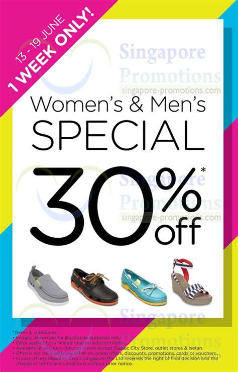 Crocs Gift Card Discount - crocs 30 off women s men s promo 13 19 jun 2014