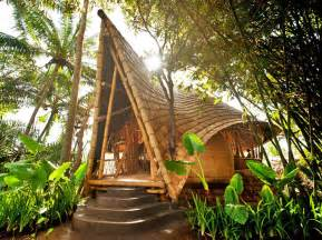 Bamboo Houses by Ibuku Constructs Three Bamboo Homes In Bali S Gorgeous