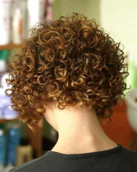 haircuts for curly hair back view short curly bob hairstyles back view