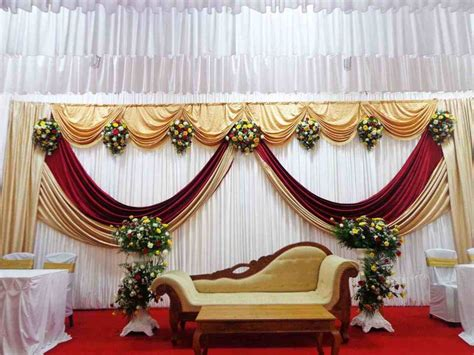 decoration ideas simple wedding stage decoration ideas siudy net