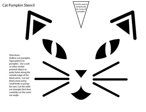 cute cat face template printable pictures to pin on