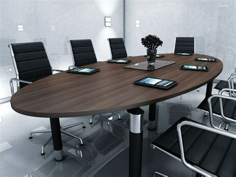 Boardroom Meeting Table Rexel Oval Or Elliptical Tables 2400mm X 1200mm Table Reality