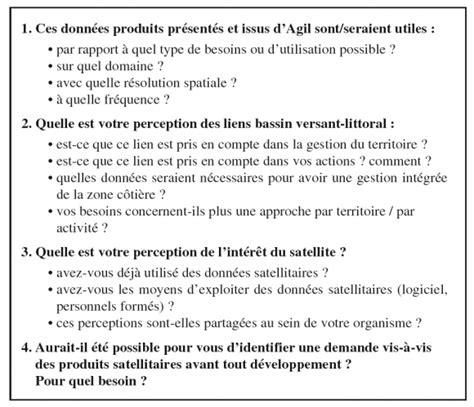 Grille D Entretien Semi Directif Exemple by Du Satellite Au D 233 Cideur La Recherche Au Service