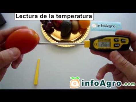 termometro  alimentacion  sonda de penetracion bt youtube