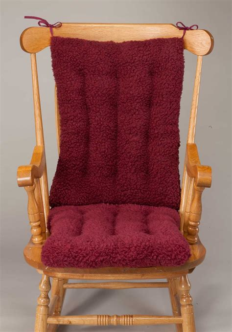 Rocking Chair Cushion Set sherpa rocking chair cushion set by oakridge comfortstm ebay