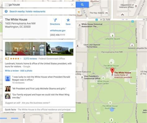 Directions To The White House by To Implement Googlebomb Fix To Prevent