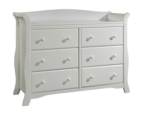 Storkcraft White Dresser by Storkcraft White Avalon 6 Drawer Children S Dresser
