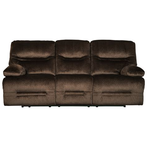 Contemporary Reclining Sofas Signature Design By Brayburn Contemporary Reclining Sofa Value City Furniture
