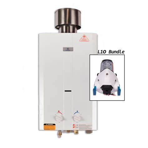 portable propane water heater marey 2 0 gpm liquid propane gas portable tankless water