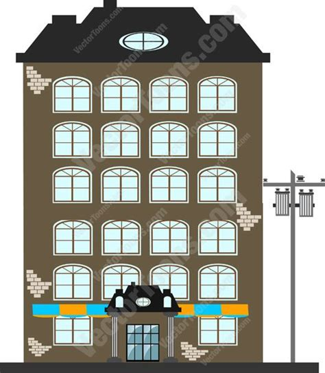 Free Home Building Software black roof brown and grey brick building with many