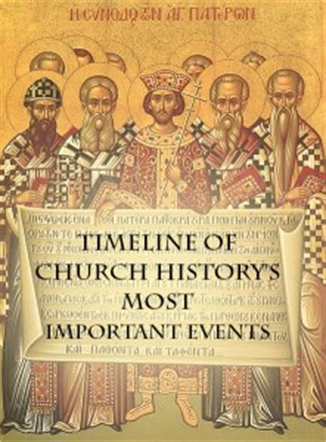 a history of some of ã s most landmarks books timeline of church history s most important events