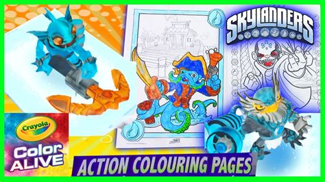3d coloring book skylanders come alive in 3d color alive coloring book