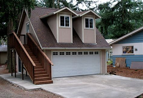modular garage apartments financing a prefab garage with apartment prefab homes