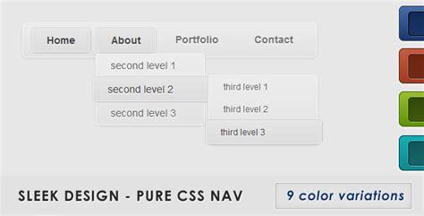 pinterest layout pure css sleek design pure css nav by alanpolhoatzin codecanyon