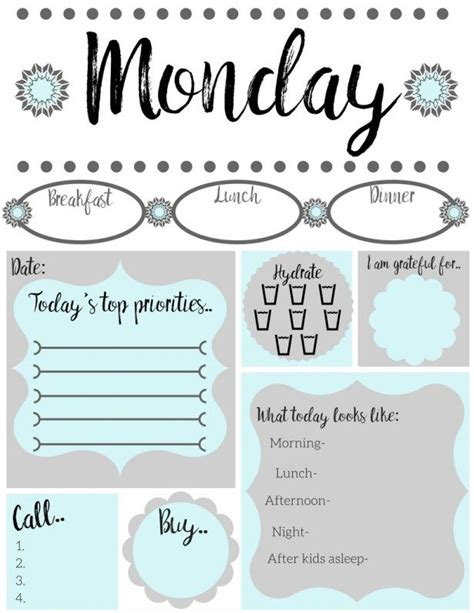 printable mom daily planner free printable daily to do list free printable easy and