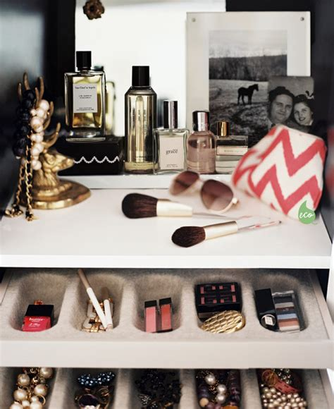 How To Organize Your Makeup Drawer by Conquering Clutter Tips