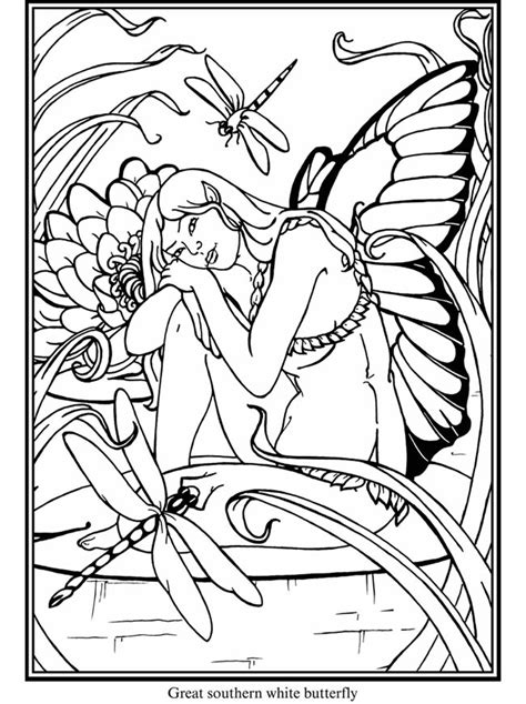 coloring books beautiful fairies 35 unique illustrations books f a i r i e s fairies free coloring pages