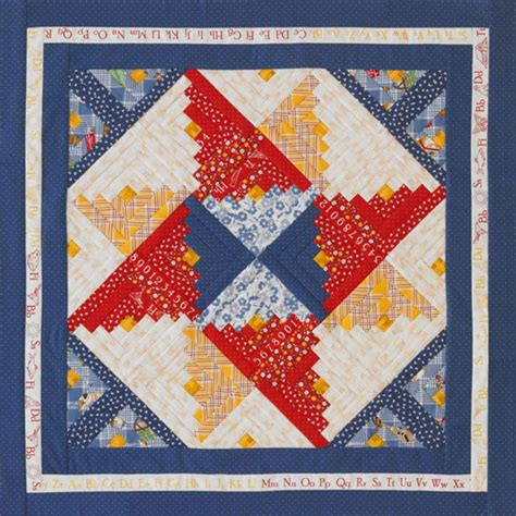 Allpeople Quilt by Friendship Log Cabins Allpeoplequilt