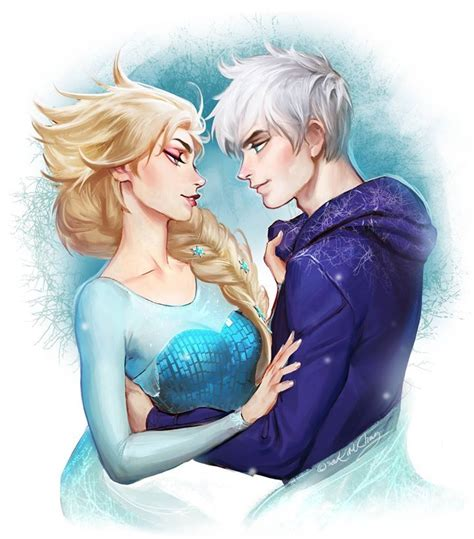 film elsa and jack frost elsa jack frost movies and books pinterest
