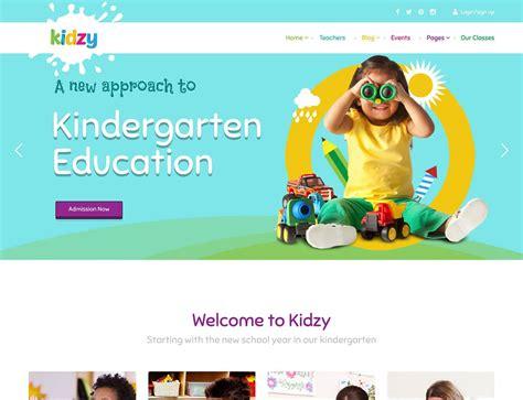 wordpress themes kindergarten free 15 best kindergarten wordpress themes 2018 athemes