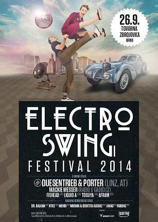 electro swing festival electroswing festival 2014 26 9 2014 tov 225 rna zbrojovka