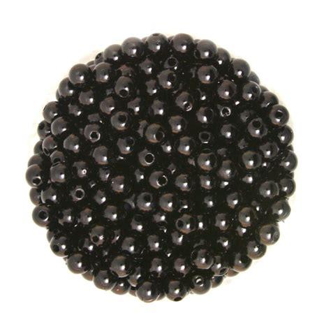 bead wholesalers approx 1000pcs lot black color 6mm dia imitation