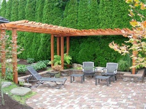 l shaped arbour 11 ways to arrange your backyard