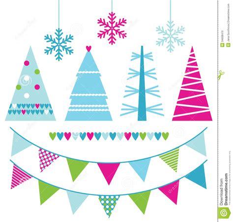vector del arbol de navidad fotografia de archivo libre de regalias 193 rboles de navidad y elementos abstractos del dise 241 o foto