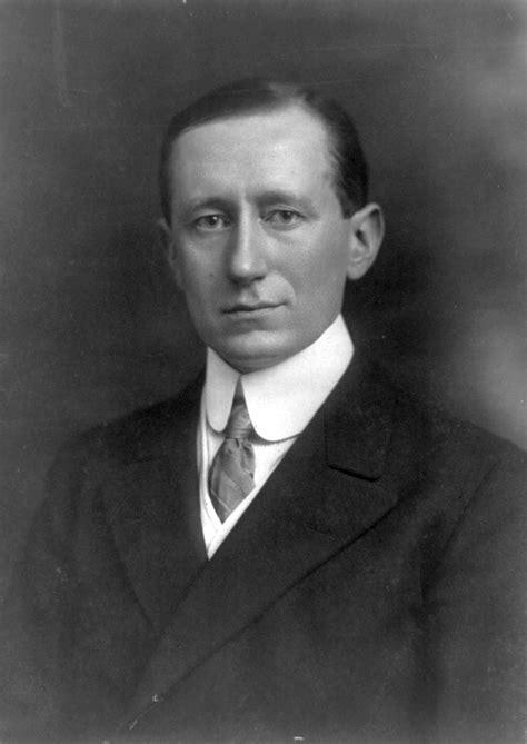 Marconi Biography In English | guglielmo marconi
