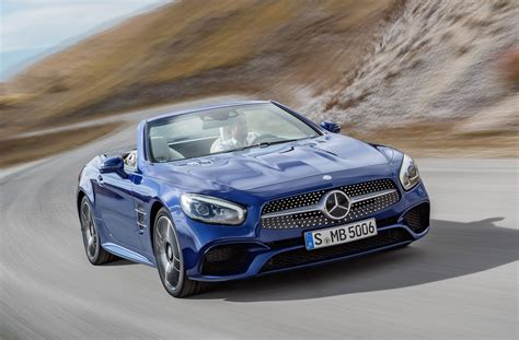 2017 Mercedes Sl Leaked Ahead Of Los Angeles Auto