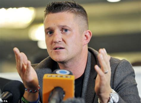 former edl leader tommy robinson to help police track down