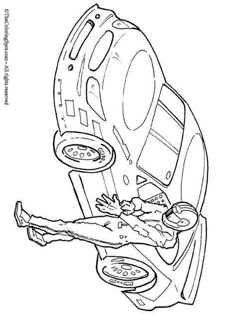 Coloring Page Of Race Car Driver | free nascar printable coloring pages free best free