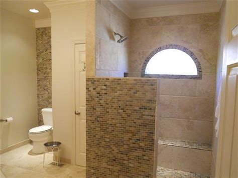 Open Shower Designs Without Doors Glen Hutchison Inc Showers W Out Doors