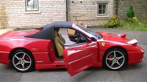 Now Sold Ferrari F355 Spider Kit Car Replica Mr2 Based