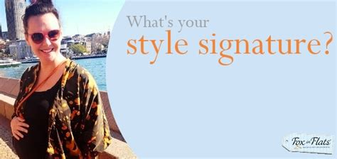 Whats Your Style With Mystylecom by What S The Recurring Theme In Your Wardrobe Fox In Flats