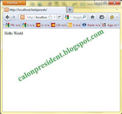 tutorial php pemula php dasar untuk pemula smk zainul muin