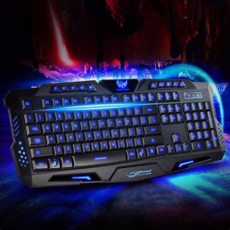 tastiera pc illuminata tastiera gaming led multimediale keyboard usb