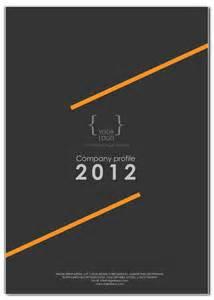 contoh desain company profile kover portofolioayuprint co id