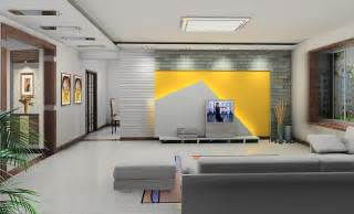 wall tv design yellow and gray tv wall design 3d house free 3d house pictures and wallpaper