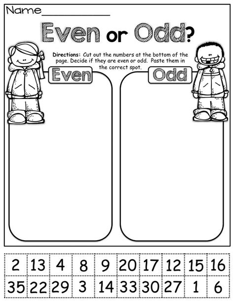 free printable math worksheets even odd even and odd numbers worksheets for grade 2 loving printable
