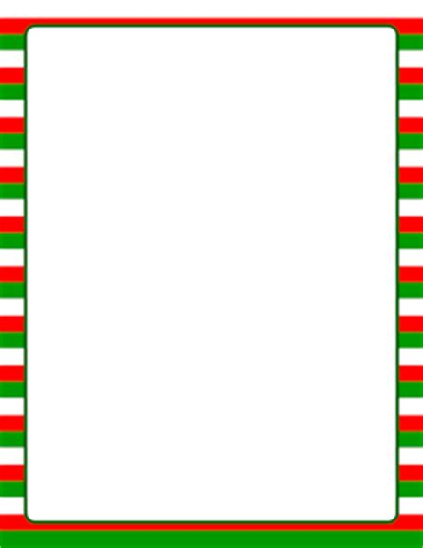 red stripe boarders christmas green and red page borders
