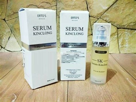 Dijamin Original Sk Ertos Kinclong Ertos Serum Kinclong Bpom ertos serum kinclong sk membuat wajah kenyal glowing merona