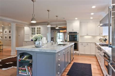 white marble kitchen with grey island house home dark white marble kitchen countertop on a large grey