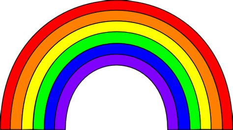 Rainbow Clipart rainbow clip images free for commercial use