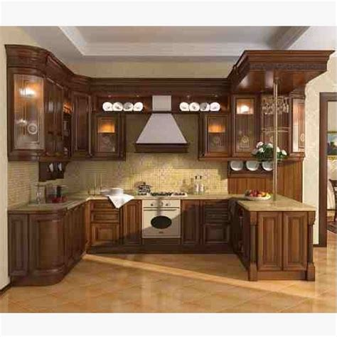 Fitted Kitchen Design by Ash Wood Kitchen Cabinets Hpd350 Kitchen Cabinets Al