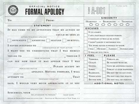 apology card templates word the last visible sorry a useful form