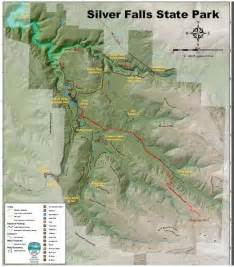 Silver Falls State Park Map by Silver Falls State Park Back Country Hike Amp Oktober Fest