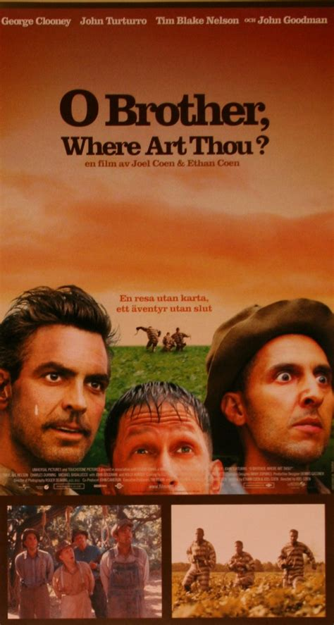 University of Mississippi Archives and Special Collections O Brother, Where Art Thou Movie Poster