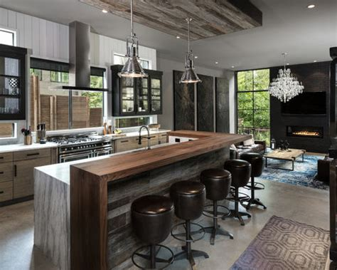 Open Galley Kitchen Ideas - 11 701 industrial kitchen design ideas amp remodel pictures houzz