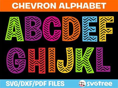 chevron pattern font free chevron svg chevron letters svg svg letters commercial